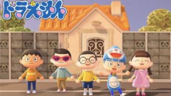 Recrea al elenco de Doraemon con estos diseños para Animal Crossing: New Horizons