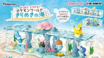 Re-Ment anuncia la colección de figuras Océano Brillante y estará disponible en noviembre en Japón