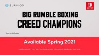 Big Rumble Boxing Creed Champions llega en la primavera de 2021 a Nintendo Switch