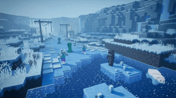 Minecraft Dungeons estrena gameplay oficial del DLC Creeping Winter