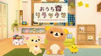 Se anuncia Ouchi de Rilakkuma: Rilakkuma ga Ouchi ni Yatte Kita para Nintendo Switch