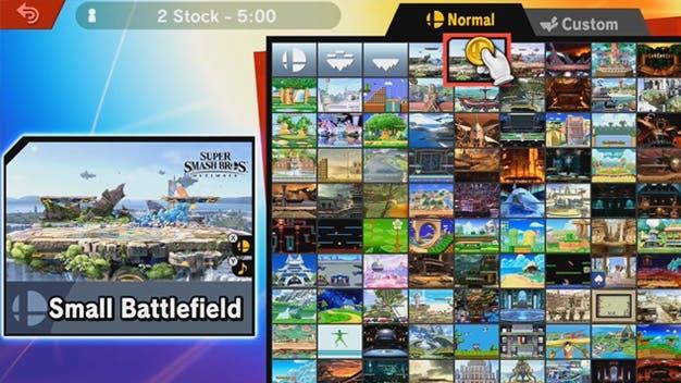 Echa un vistazo a este tour por la versión 8.1.0 de Super Smash Bros. Ultimate