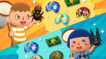 Animal Crossing: Pocket Camp estrena el evento del escarabajo astado contra el escarabajo ciervo