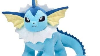 Vaporeon se une a la línea de peluches Pokémon de Build-A-Bear Workshop