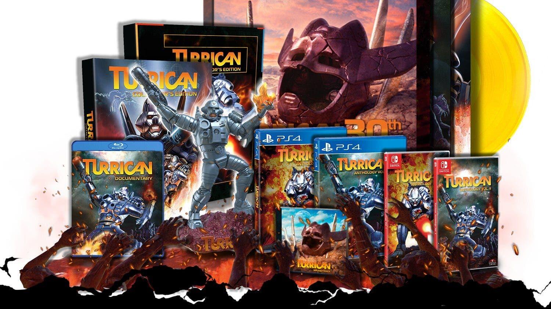 Turrican Anthology Vol. 1 y Anthology Vol. 2 son anunciados para Switch y Super Turrican 1 y 2 se relanzarán en SNES