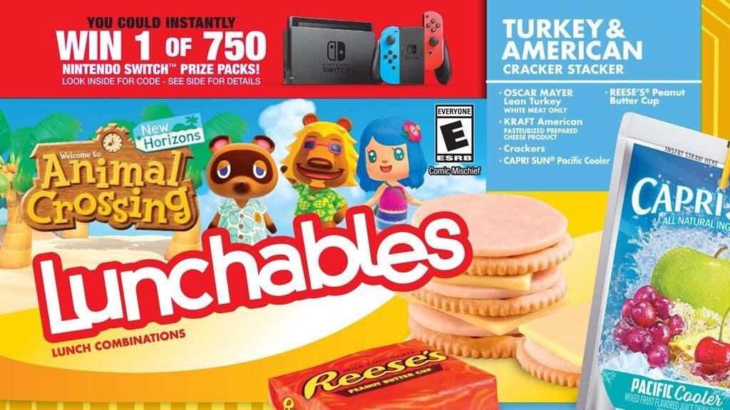 Nintendo of America anuncia una nueva colaboración con Lunchables donde regalará Switch y más