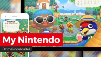[Act.] Novedades de agosto en el catálogo europeo y americano de My Nintendo