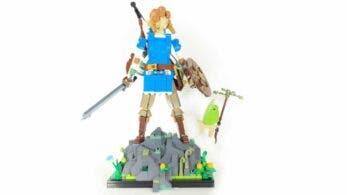 Echad un vistazo a este genial set de LEGO de The Legend of Zelda: Breath of the Wild creado por un fan