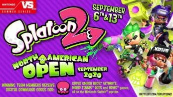 Nintendo of America regalará juegos a los ganadores del Splatoon 2 North American Open September 2020