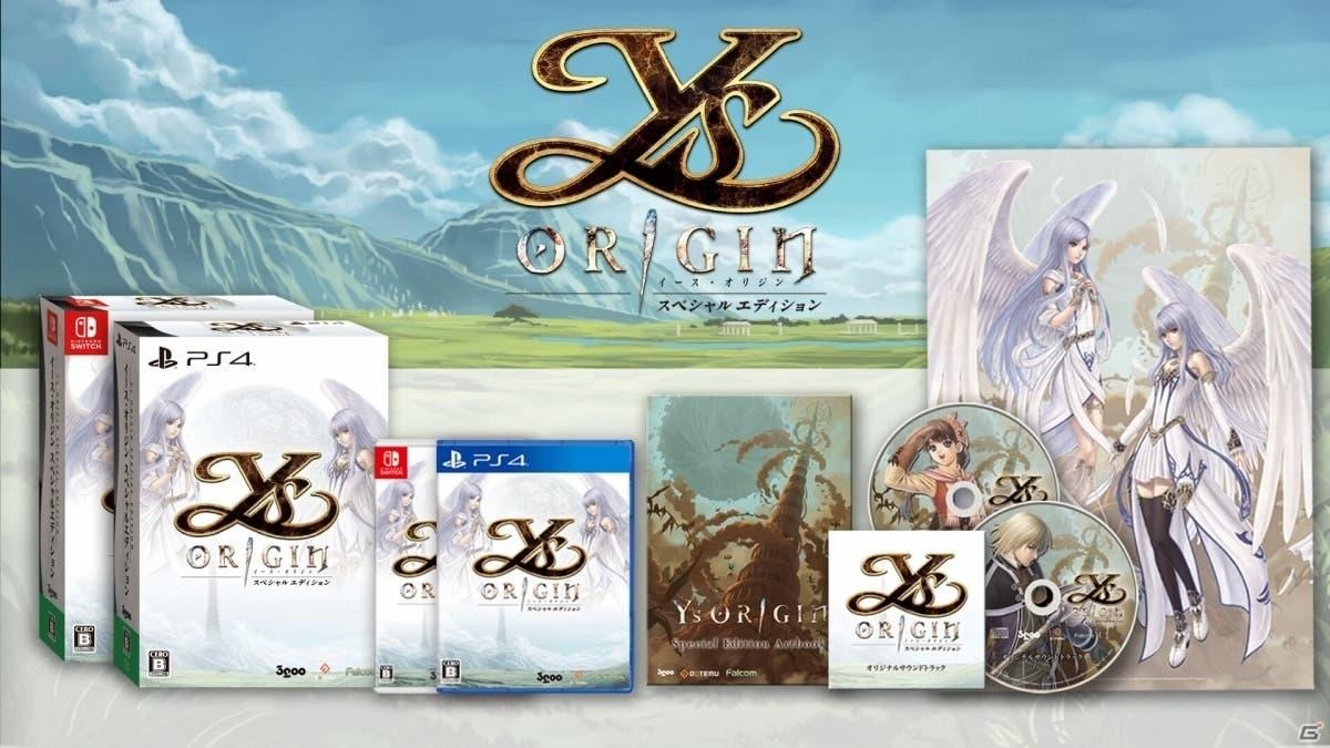Ys Origin: Edición de coleccionista japonesa y nuevo tráiler