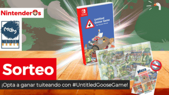 [Act.] ¡Sorteamos una edición física de Untitled Goose Game para Nintendo Switch!