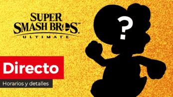 ¡Sigue aquí en directo y en español la presentación del nuevo personaje DLC de Super Smash Bros. Ultimate!