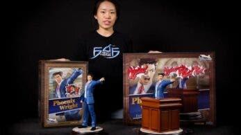 First 4 Figures comparte el unboxing de la figura de Phoenix Wright: Ace Attorney − Dual Destinies