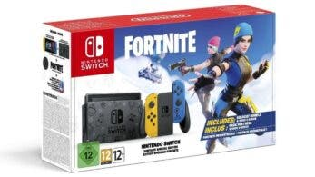 Unboxing de la Nintendo Switch edición Fortnite