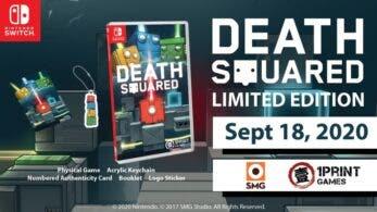 La versión física de Death Squared se lanza este viernes para Nintendo Switch, reserva disponible