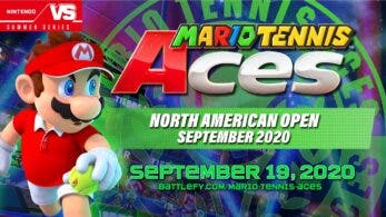 Anunciado el «North American Open September 2020» de Mario Tennis Aces y los premios que recibirán sus ganadores