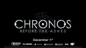 Chronos: Before the Ashes llegará el 1 de diciembre a Nintendo Switch