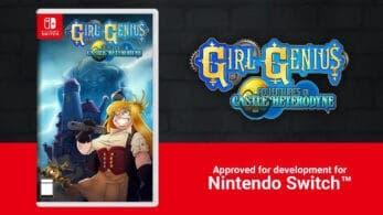 Aprueban el lanzamiento en Nintendo Switch de Girl Genius: Adventures In Castle Heterodyne