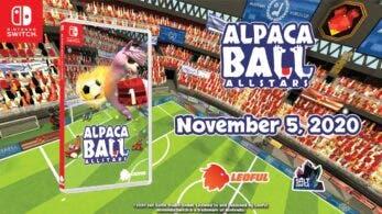 Ya puedes reservar la versión física asiática en inglés de Alpaca Ball: Allstars con envío internacional