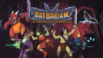 Batbarian: Testament of the Primordials llegará el 15 de octubre a Switch