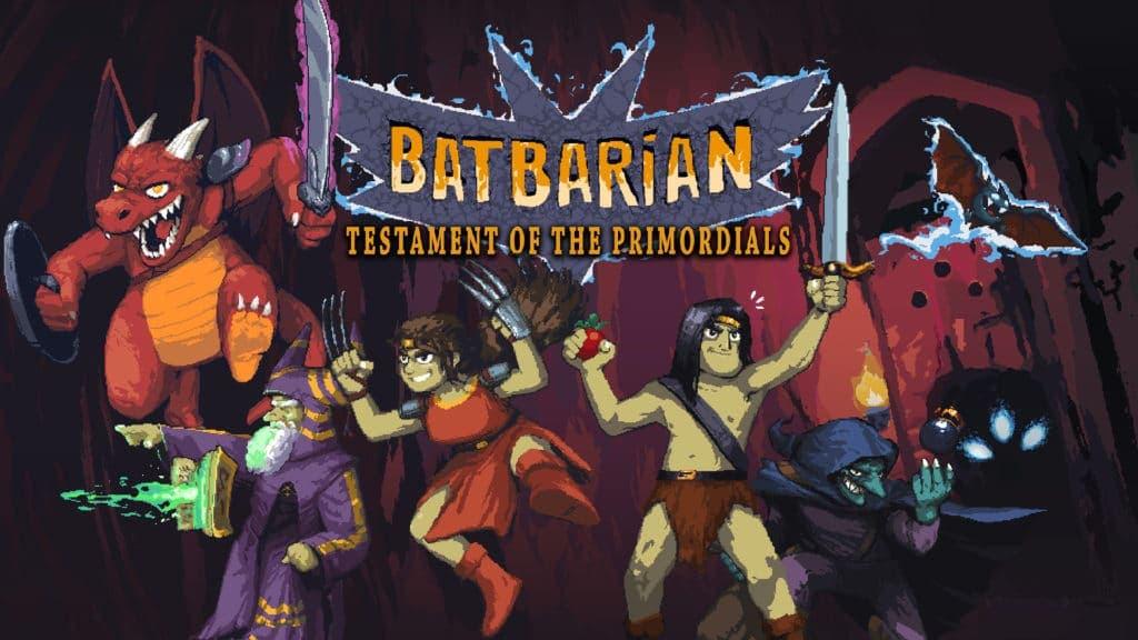 Batbarian: Testament of the Primordials llegará el 15 de octubre a Switch