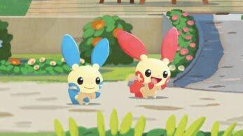 Primer vistazo a Plusle y Minun en Pokémon Café Mix,