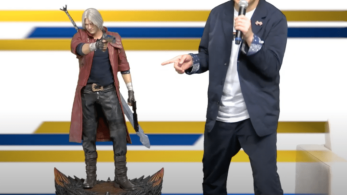Capcom lanzará esta increíble estatua de Dante de Devil May Cry