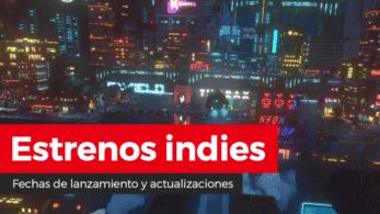 Estrenos indies: Active Neurons 2, AeternoBlade II, Bake 'n Switch, Cloudpunk, Othercide, Talking Tom Candy Run y más