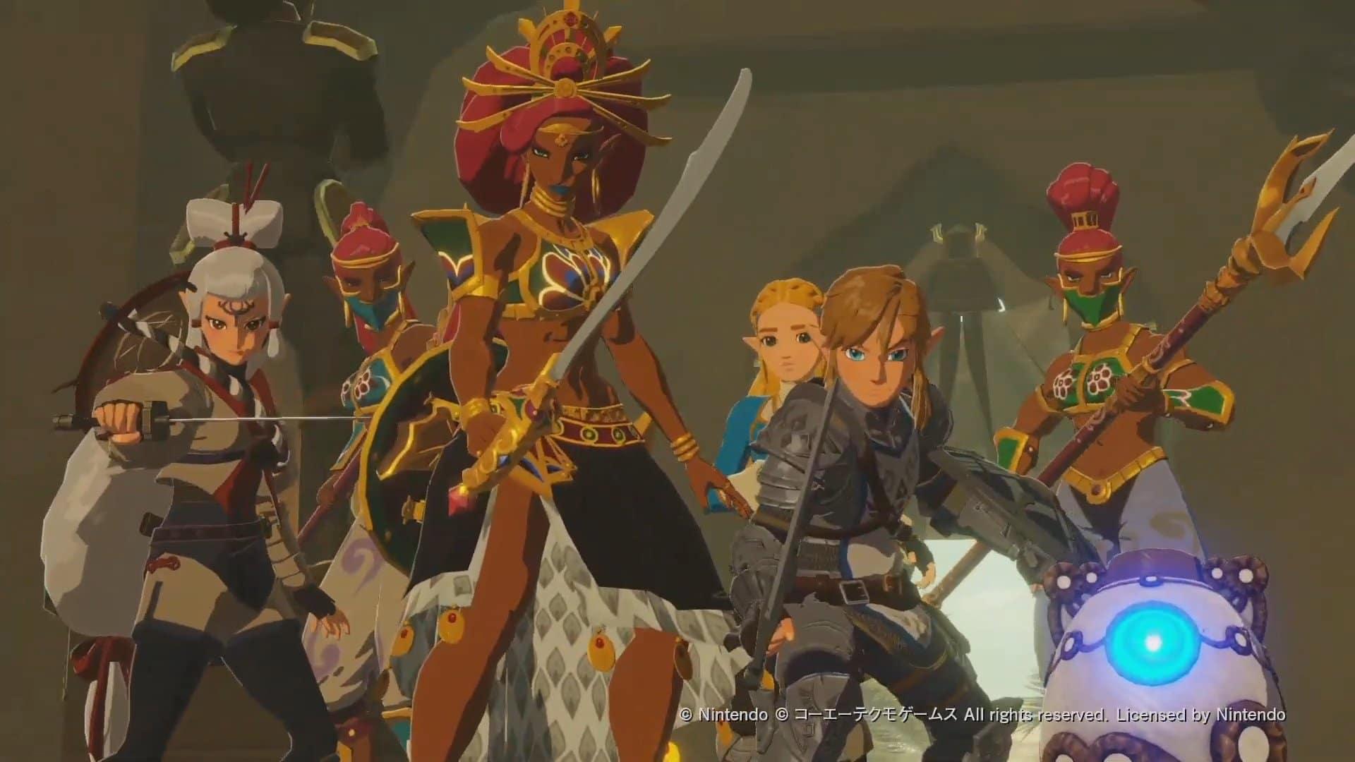 Versión en inglés del nuevo tráiler de Hyrule Warriors: La era del cataclismo en el Tokyo Game Show 2020 Online