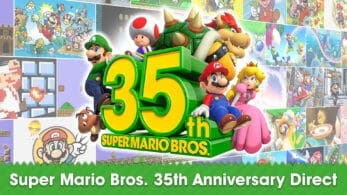Ya disponible un Nintendo Direct por el 35º aniversario de Super Mario