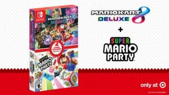 Anunciado un pack doble de Mario Kart 8 Deluxe + Super Mario Party