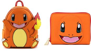 La tienda de accesorios Loungefly lanza una mochila y una cartera de Charmander