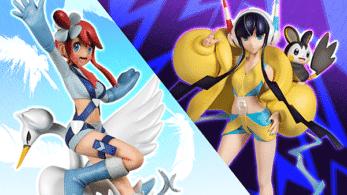 Estas figuras de Gerania y Camila ya están disponibles en Pokémon Center