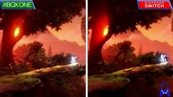 Comparativa en vídeo de Ori and the Will of the Wisps: Xbox One vs. Nintendo Switch