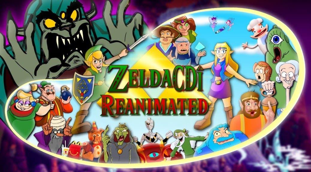 Más de 200 artistas se unen en este homenaje donde vuelven a animar Zelda CDi