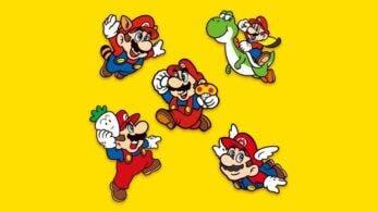 Los usuarios americanos de My Nintendo ya pueden obtener este set de pines de Super Mario