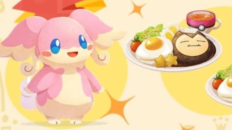 Pokémon Café Mix se actualiza a la versión 1.40 con nuevas comandas, el el desafío hostelero de Celebi y más