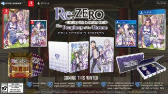 Re:Zero – Starting Life in Another World – The Prophecy of the Throne detalla sus ediciones especiales