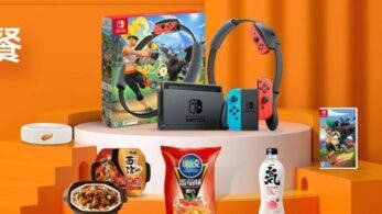 Tencent anuncia un pack de Ring Fit Adventure + varios productos de comida rápida para China
