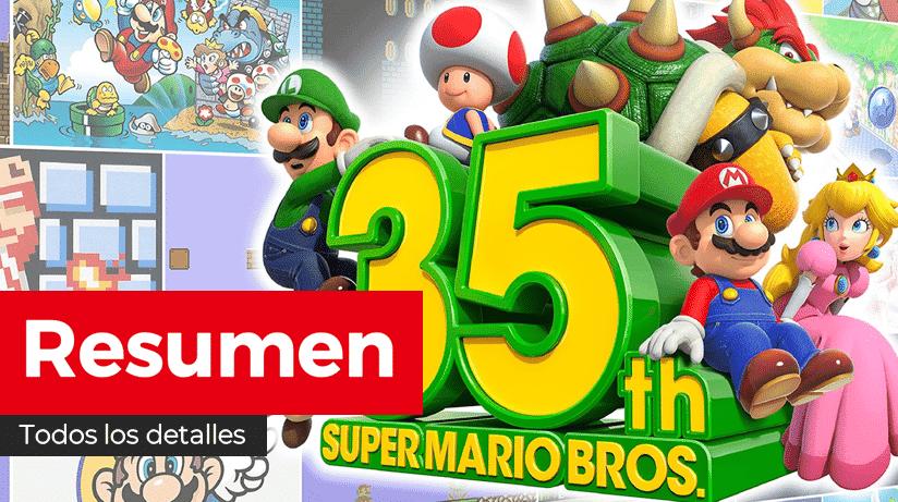 Resumen de todo lo mostrado en el Super Mario Bros. 35th Anniversary Direct de Nintendo