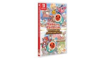 Ya puedes reservar la versión física asiática en inglés de Taiko No Tatsujin: Rhythmic Adventure Pack con envío internacional