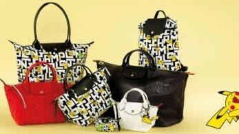 Ya disponibles estos bolsos y mochilas de Logchamp en colaboración con The Pokémon Company