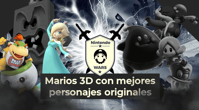 Ronda Final de Nintendo Wars: Juegos de Mario 3D con mejores personajes originales: ¡Vota por Sunshine vs. Galaxy!
