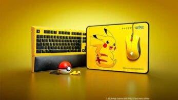 Los accesorios de PC de Razer inspirados en Pikachu ya están disponibles en Singapur, Malasia, Indonesia y Tailandia