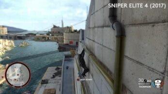 Este vídeo nos muestra la evolución a lo largo de los años de la saga Sniper Elite