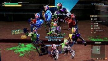 Nuevo gameplay de Kamen Rider: Memory of Heroez
