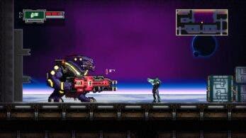 Así luce la acción de desplazamiento lateral de Outpost Delta en Nintendo Switch