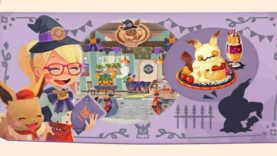 Se anuncia un evento especial de Halloween y la visita de Mimikyu para Pokémon Café Mix