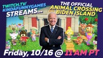 Joe Biden mostrará mañana su isla oficial de Animal Crossing: New Horizons