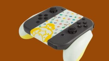 PowerA anuncia este grip ergonómico de Animal Crossing para los Joy-Con de Nintendo Switch